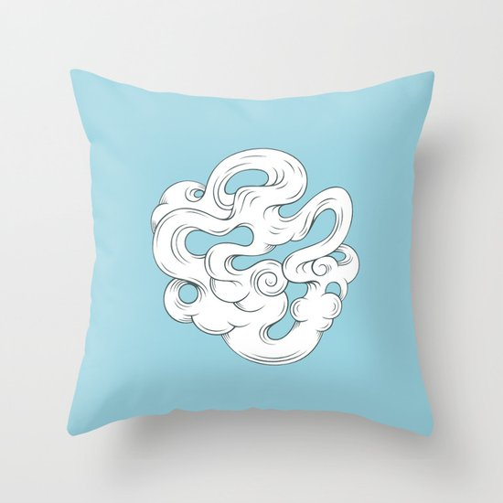 Cirrus///2 Throw Pillow