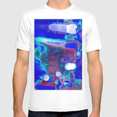 Creating A Universe 5 White SMALL Mens Fitted Tee
