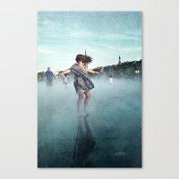 Danse De La Pluie IV Canvas Print