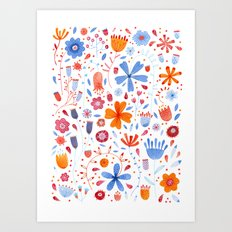 English Meadow Art Print