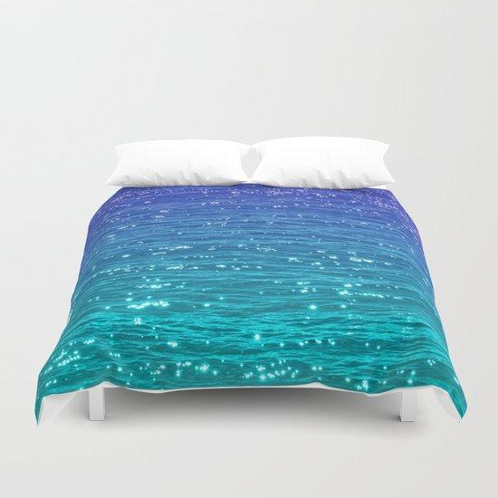 Sea Sparkle Duvet Cover By Catspaws Society6