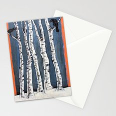 White book Stationery Cards