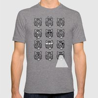 Eyes Of The Tiger Mens Fitted Tee Tri-Grey SMALL
