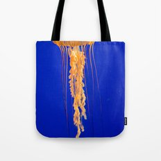 He moves from point to point with as little uproar as a jellyfish. --Plum Tote Bag