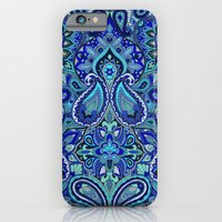 iPhone & iPod Case featuring Paisley Blue by Aimee St Hill