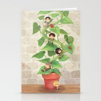 Attack On Beanstalk Stationery Cards