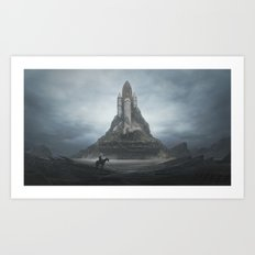White Castle Art Print