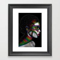 Cosmo girl Framed Art Print