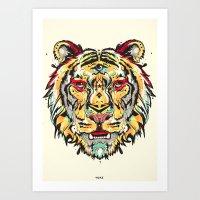 tigre Art Print