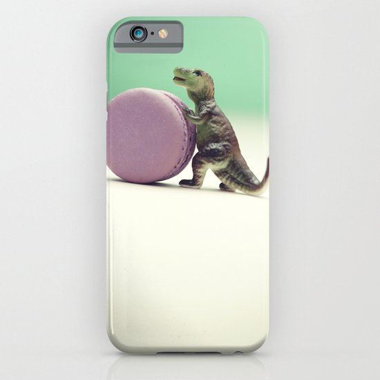 Macaron Baby - T-Rex Thief iPhone & iPod Case