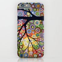 Abstract Landscape Original Painting...VISIONS OF NIGHT, by Amy Giacomelli iPhone 6 Slim Case