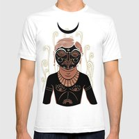 AG - Indian Man Mens Fitted Tee White SMALL