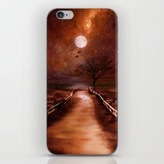 The cosmic touch iPhone & iPod Skin