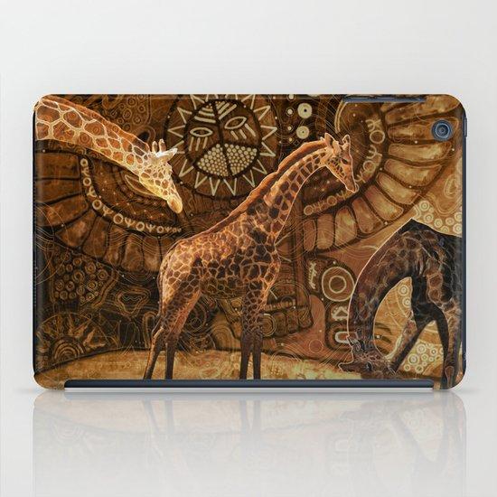 Three Giraffes iPad Case