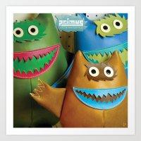Alt. Album Cover: Green … Art Print