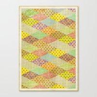 SPONGE CAKE / PATTERN SERIES 001 Canvas Print