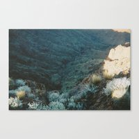 Valley Low Canvas Print