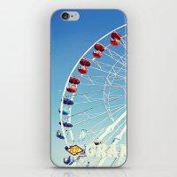 Grand Wheel at the Fair iPhone & iPod Skin