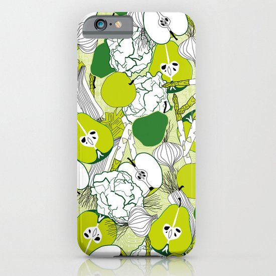 Vegetable pattern iPhone & iPod Case