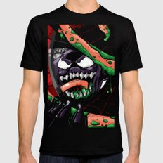 To Catch A Spider (Purple Symbiote) SMALL Black Mens Fitted Tee
