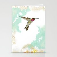 Hummingbird Ayre Serene … Stationery Cards