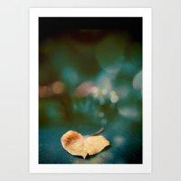 The Magic Of The Leaf Art Print