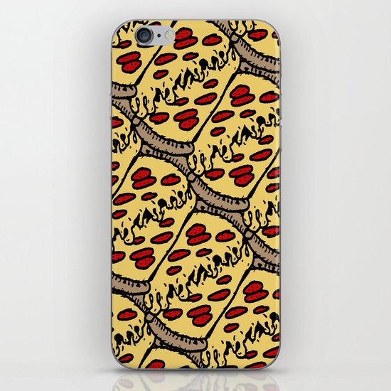 pattern pizza iPhone & iPod Skin