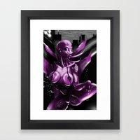 PrazerBot Framed Art Print