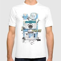 Ten Golden Rules Mens Fitted Tee White SMALL