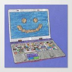 press WIN Canvas Print