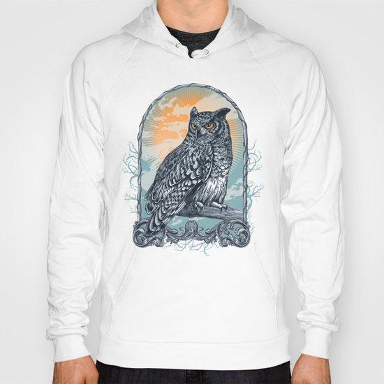 Twilight Owl Hoody