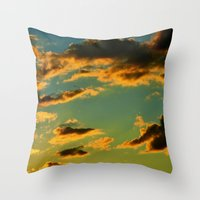 My Vintage Sky Throw Pillow
