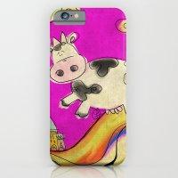 Cow - magenta iPhone 6 Slim Case