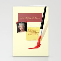 Her Majesty The Queen Stationery Cards