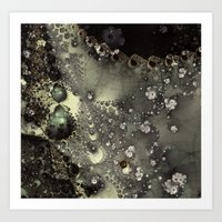 Laceline - Fractal Art Art Print