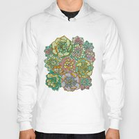 Blooming Succulents Hoody