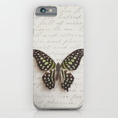 Graphium agamemnon butterfly Slim Case iPhone 6s