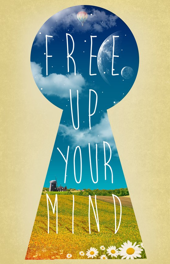 Free Up Your Mind Art Print