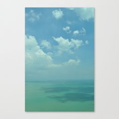 Sea of Blue. Canvas Print
