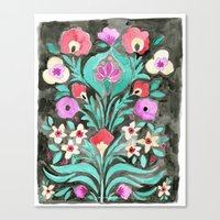 Eve Flower Canvas Print