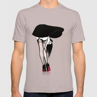 Bubble Gum! Mens Fitted Tee Cinder SMALL