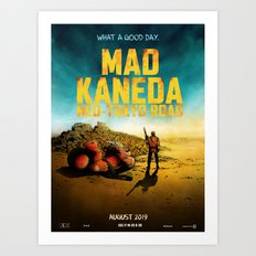 Mad Kaneda Neo-Tokyo Road Art Print