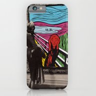iPhone & iPod Case featuring Scream by Canson City
