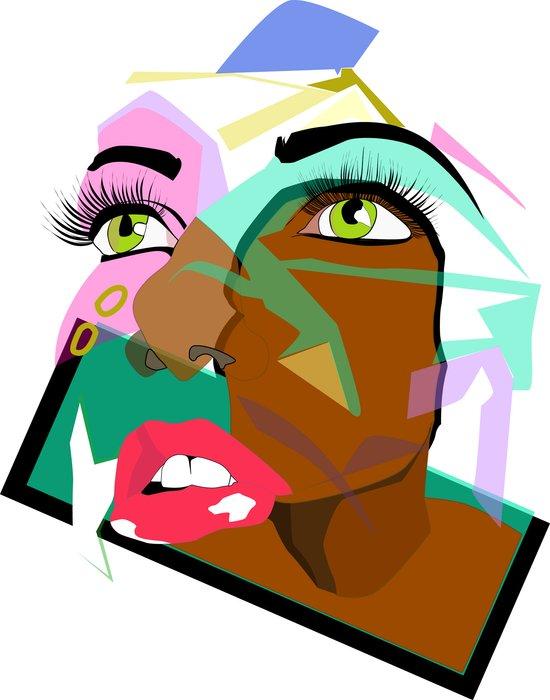 Anyone: I N  B L A C K  Art Print