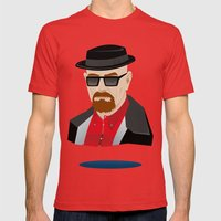 Heisenberg Mens Fitted Tee Red SMALL