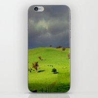 Following The Fence Line… iPhone & iPod Skin