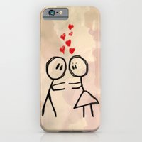 iPhone & iPod Case featuring Kiss me ! by Msimioni