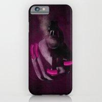Bang Bang Gun Smoke  Pink Grunge Nails  iPhone 6 Slim Case