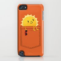 iPhone Cases featuring Pocketful of sunshine by Budi Kwan