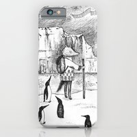 iPhone & iPod Case featuring Antarctic explorer by Ulrika Kestere